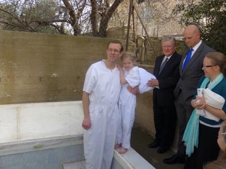 2016-1-22 Ella Blomberg baptism