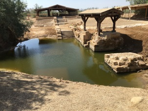 2016-5-20 Baptismal site of Jesus 1