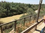 2016-5-20 Baptismal site of Jesus, Jordan side