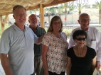 2016-5-20 LDSC Training team at baptismal site of Jesus
