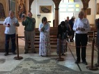 2016-5-20 St. Georges Church Mosaic in floor