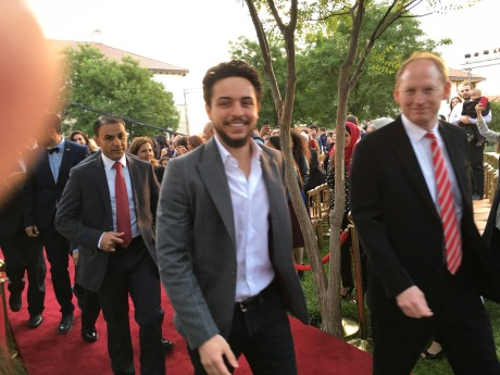 2016-5-24 Crown Prince Abdullah III at King's Academy graduation