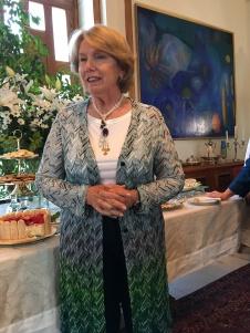 2016-5-29 Princess Majda hosting a garden party