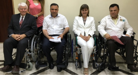 Royal Hospital Wheelchair Ceremony
